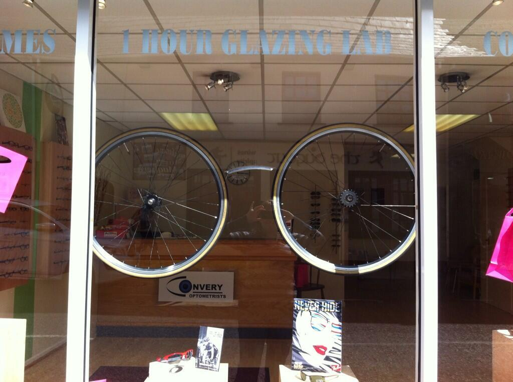 Opticians Cycle Wheels