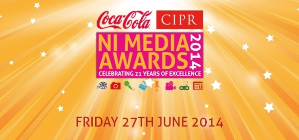 NI Media Awards Logo