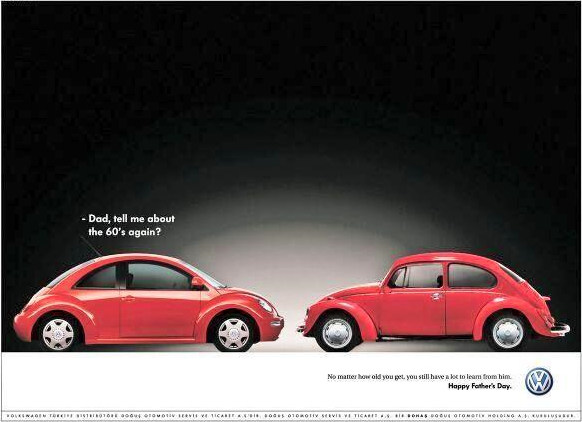 Volkswagon Father's Day ad