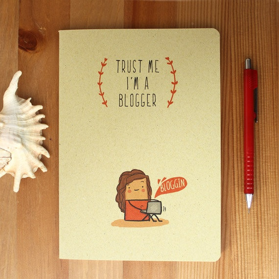 Trust Me I'm A Blogger Notebook