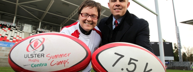 Ulster Rugby Centra Summer Schemes 2014
