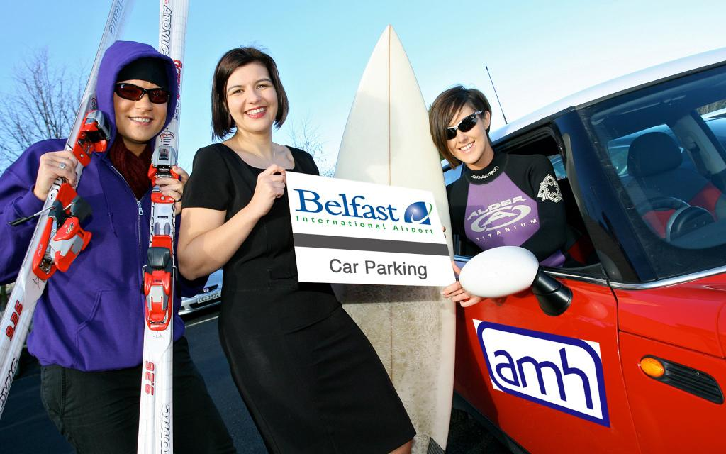 AMH BIA photo call airport parking