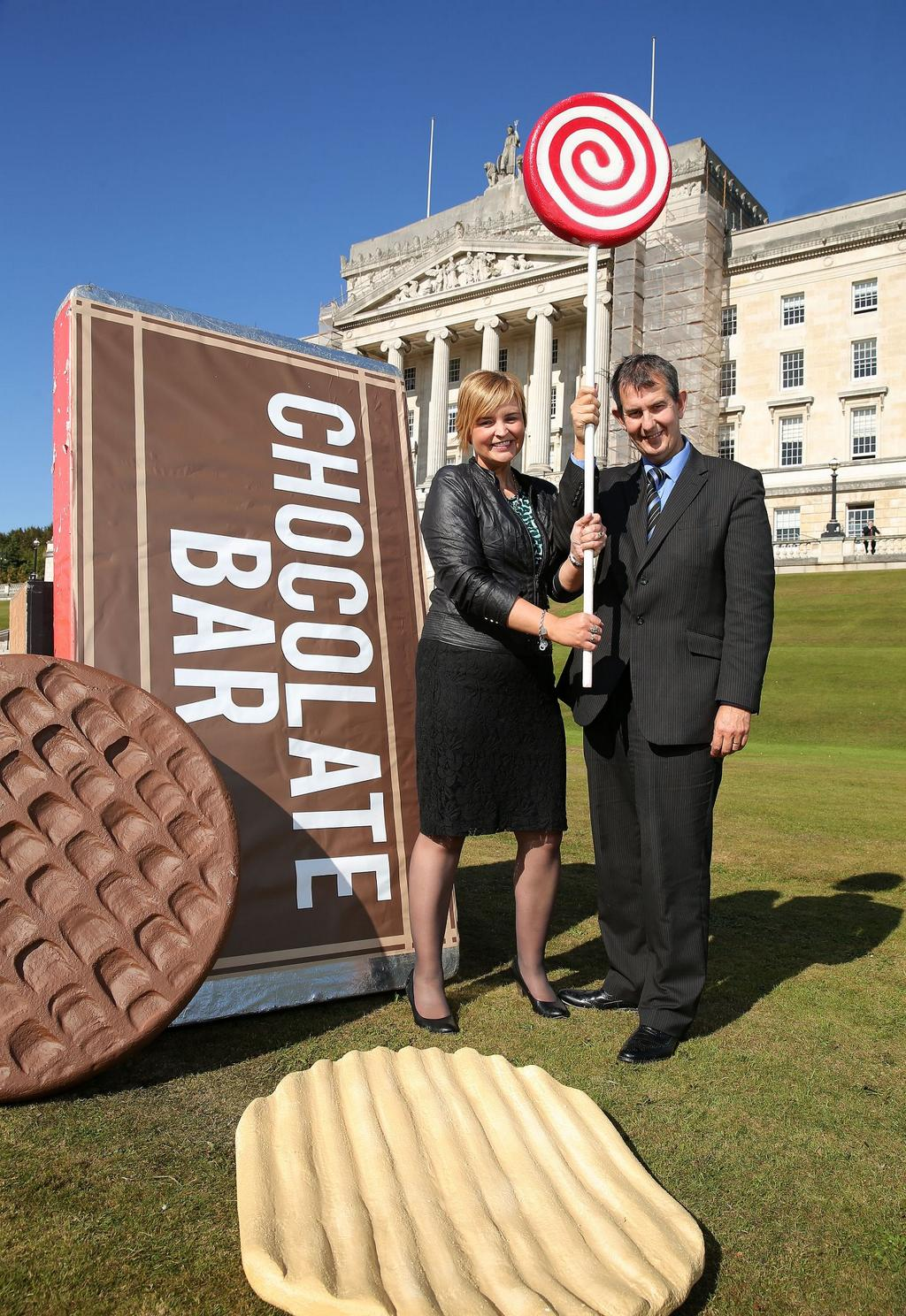 ASG Safefood Photocall Stormont