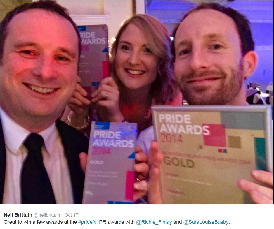 Ulster Rugby CIPR PRide 2014