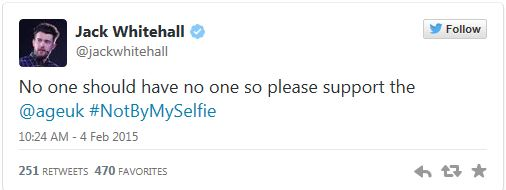 age-uk-selfie-jack-whitehall-tweet