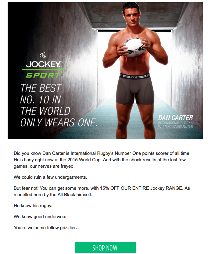 Utility-Bear-email-marketing-RWC-Campaign