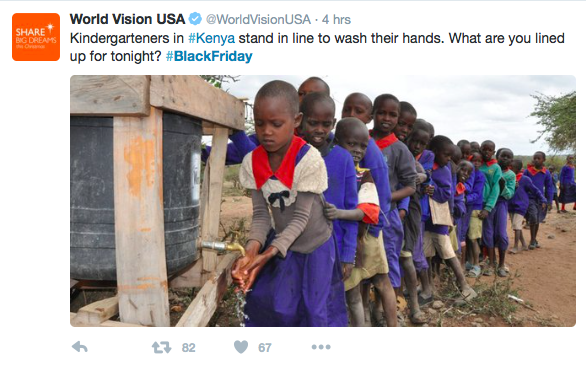 World-Vision-Black-Friday-tweets