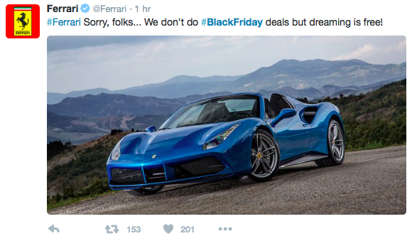 Ferrari-Black-Friday-tweet