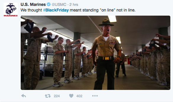 US-Marines-Black-Friday-tweet